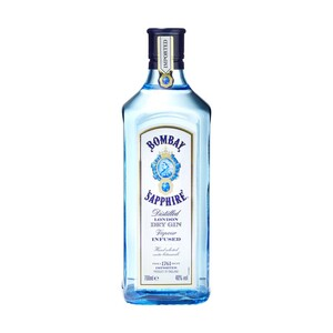 Bombay Sapphire London Dry Gin 40 % Vol., jede 0,7-l-Flasche