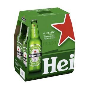 Heineken jede 6 x 0,33-Liter-Packung
