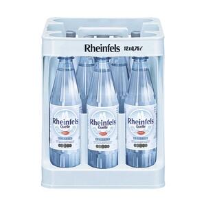 Rheinfels Mineralwasser versch. Sorten, 12 x 0,75/12 x 0,7 Liter,  jeder Kasten