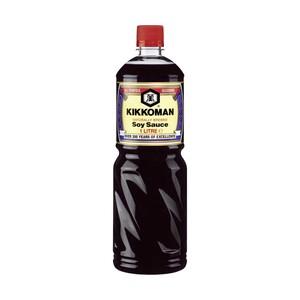 Kikkoman Soy Sauce jede 1-Liter-Flasche - Gratis dazu: Kikkomann Soyasauce à 150ml im Wert von 2,29 € NEBEN DER WARE.