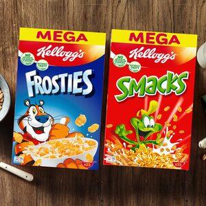 Kellogg´s Frosties oder Smacks jede 700-g-Packung und weitere Sorten,