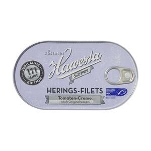 Hawesta MSC Heringsfilets oder Heringsröllchen versch. Sorten, jede 190/200-g-Dose