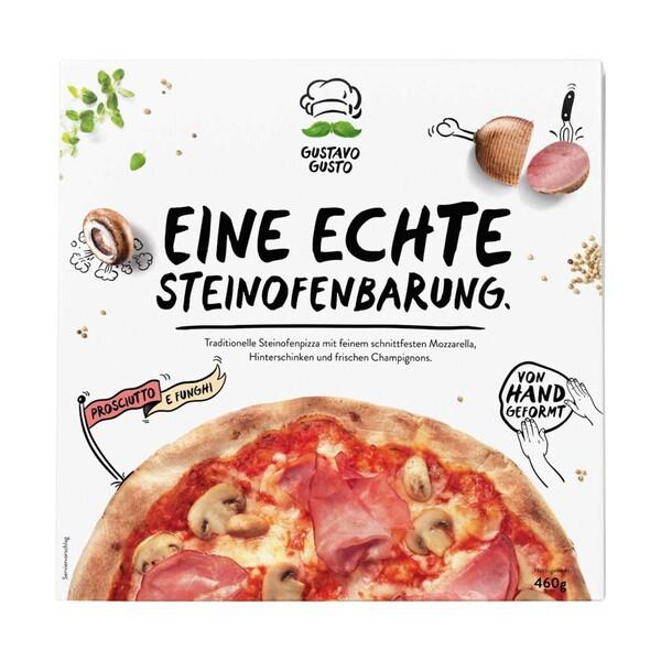 Gustavo Gusto Pizza versch. Sorten, gefroren, jede 420/460-g-Packung