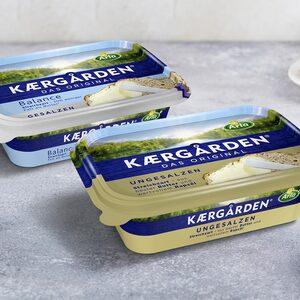 Arla Kaergården Original oder Balance gesalzen oder ungesalzen, jede 250-g-Packung