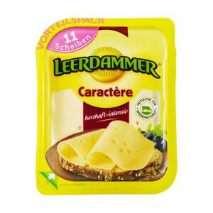 Leerdammer Original oder Leerdammer Caractère Holländischer Schnittkäse, 45 % Fett i. Tr./17 % Fett absolut, und weitere Sorten, jede 260/225-g-Packung