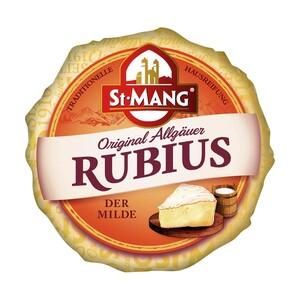 St.Mang Limburger oder Rubius Deutscher Weichkäse, 40/60 % Fett i. Tr. und weitere Sorten,  jede 180/200-g-Packung