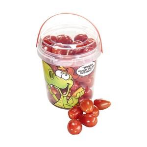Marokko Snacktomaten, rot, Kennzeichnung siehe Etikett, jeder 500-g-Eimer