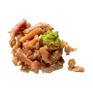 Frische Schweineschnitzel, natur oder Schweinegeschnetzeltes nach Gyros Art und weitere Würzungen, aus dem Schinken,  je 1 kg