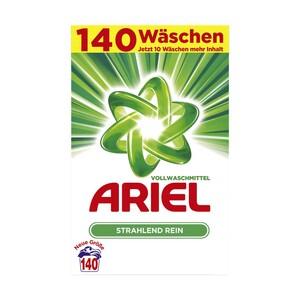 Ariel Waschmittel 140/105 Waschladungen versch. Sorten, jede Packung - Gratis dazu: 1x Ariel Pods 15 WL im Wert von 4,85 € NEBEN DER WARE.