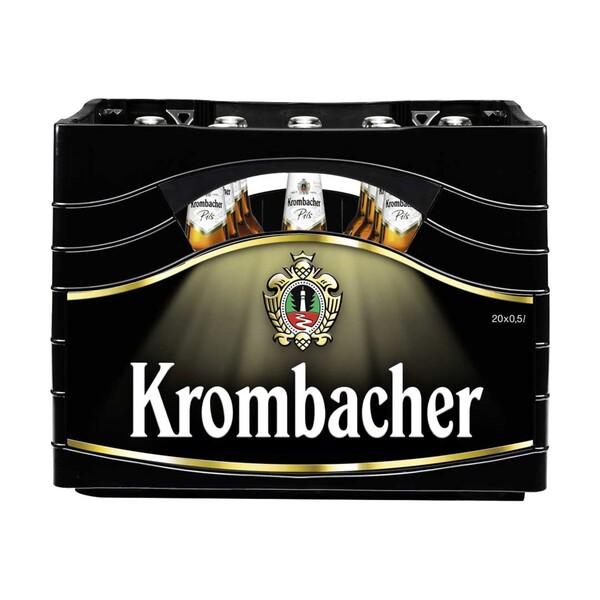 Krombacher versch. Sorten, 20 x 0,5/24 x 0,33 Liter, jeder Kasten