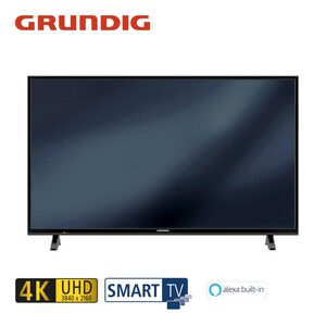55 VLX 6000 – Fire TV Edition • 3 x HDMI, 2 x USB, CI+ • geeignet für Kabel-, Sat- und DVB-T2-Empfang • Maße: H 72,8 x B 124,7 x T 8,5 cm • Energie-Effizienz A+ (Spektrum A++ bis E) • B