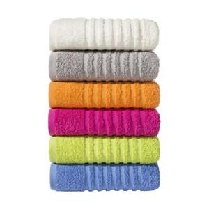 Handtuch 100 % Baumwolle, 50 x 90 cm, je - Duschtuch 70 x 130 cm für 4 €