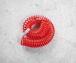 Kraft Werkzeuge Druckluft Spiralschlauch 10m