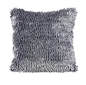 "Bella Casa Dekokissen ""Chenille"", ca. 45 x 45 cm - Grau"