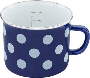 """Casa Royale Milchtopf """"Dots"""", Ø ca. 14 cm - Blau"""