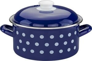 "Casa Royale Fleischtopf ""Dots"", Ø ca. 20 cm - Blau"