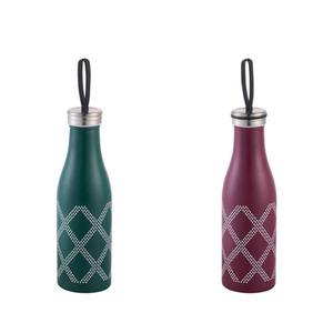 Isolierflasche Edelstahl 500 ml in zwei Farben