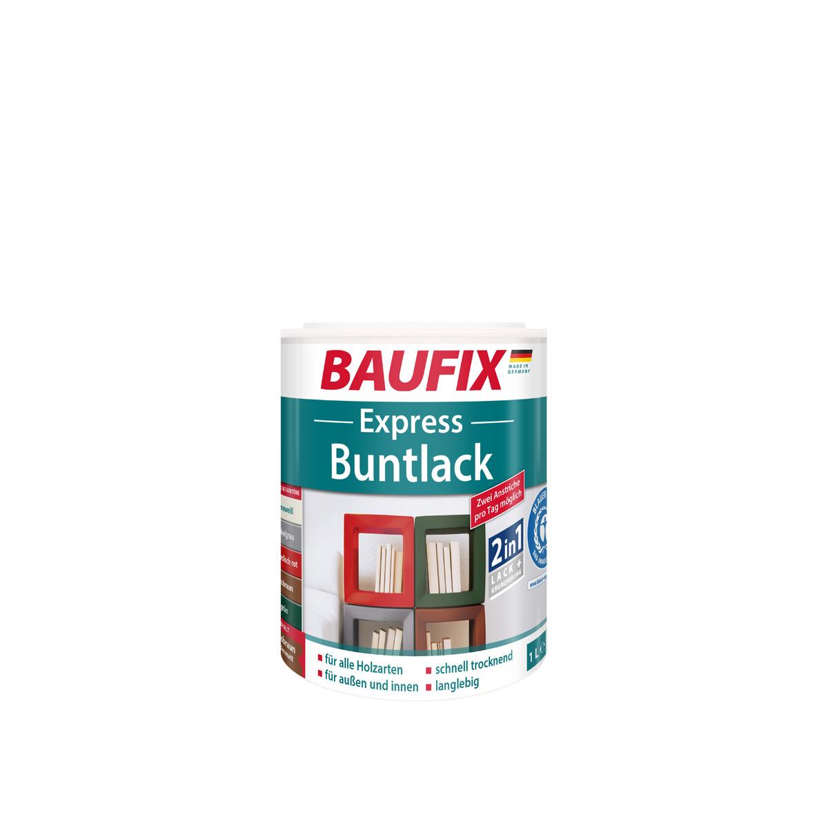 Bild 1 von BAUFIX Express Buntlack 2 in 1, nussbraun, 3er Set