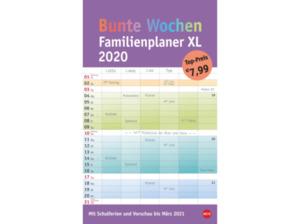 ATHESIA BUNTE WOCHEN FAMPLAN XL Kalender