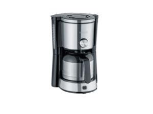 SEVERIN KA 4845 Type Switch Kaffeemaschine mit Thermokanne in Edelstahl gebürstet/Schwarz