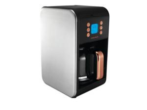 MORPHY RICHARDS 162011EE Accents pour over Kaffeemaschine mit Glaskanne aus hitzebeständigem Glas in Rosegold