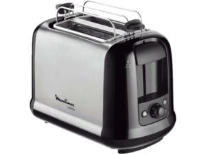 MOULINEX LT 2618 Toaster in Edelstahl Matt/Schwarz
