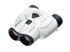 NIKON BAA802SB Aculon T11 Fernglas Vergrößerung: 8-24x in Weiß