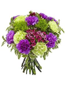 Blumenstrauß mit Nelken, Ø 31–35 cm