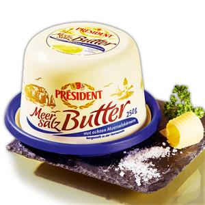 Président Meersalz Butter
