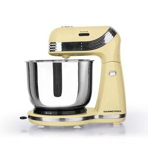 GOURMETmax Küchenmaschine Retro, 250W - vanille