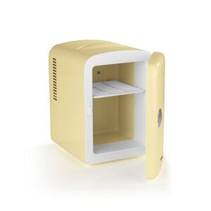GOURMETmaxx Mini-Thermo-Kühlschrank, Retro, 45W - vanille