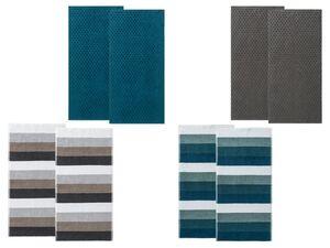 MIOMARE® Handtuch, 2-teilig,  50 x  100 cm, saug- und strapazierfähig, aus Baumwolle
