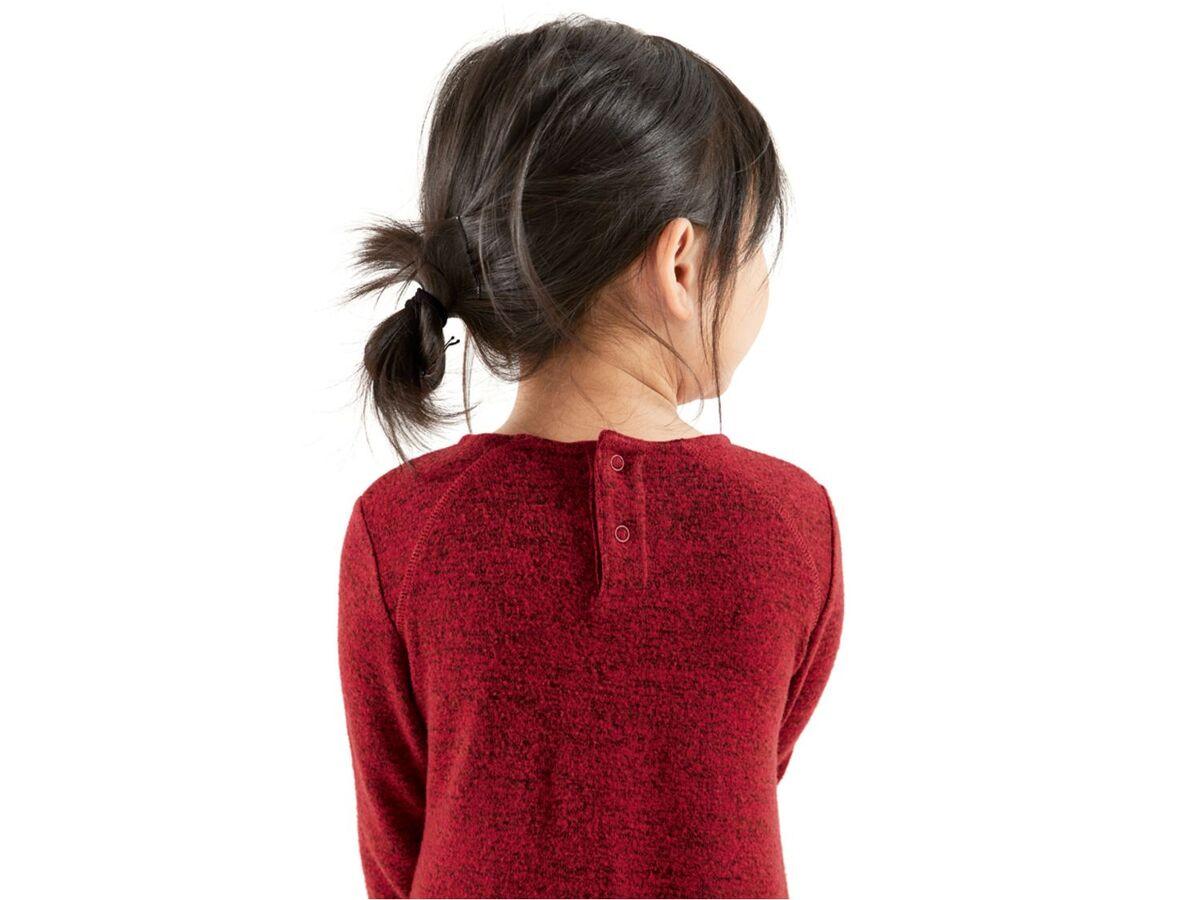 Bild 5 von LUPILU®  Kleinkinder Kleid Mädchen, mit Rückenknöpfung, mit Viskose