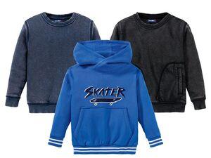 LUPILU® Kleinkinder Sweatshirt Jungen, mit Baumwolle