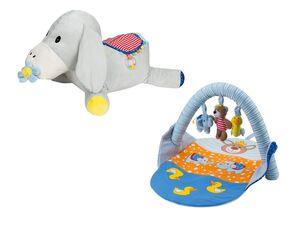 LUPILU® Baby Spieldecke/ Aufsitztier, ab 0 Jahren, viele Spielfunktionen, zur Förderung