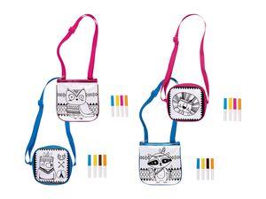 CRELANDO® Kindertasche zum Bemalen