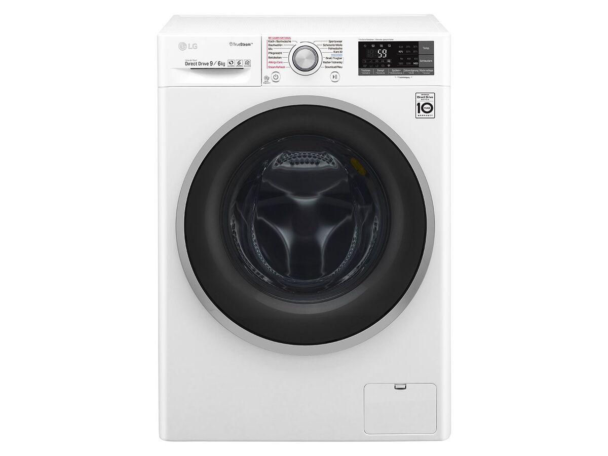 Bild 1 von LG Waschtrockner F14WD 96EH1; A; 9Kg Waschen; 6Kg Trocknen