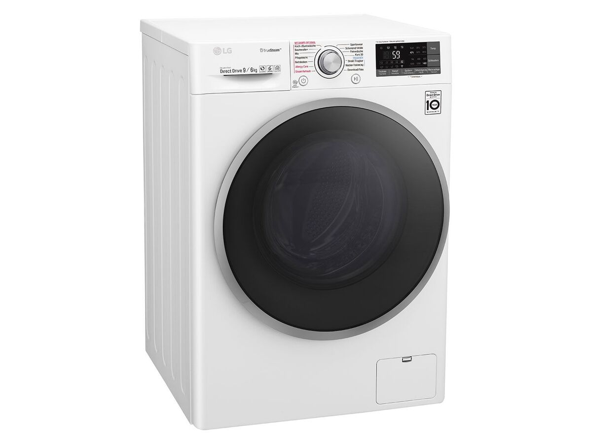 Bild 2 von LG Waschtrockner F14WD 96EH1; A; 9Kg Waschen; 6Kg Trocknen