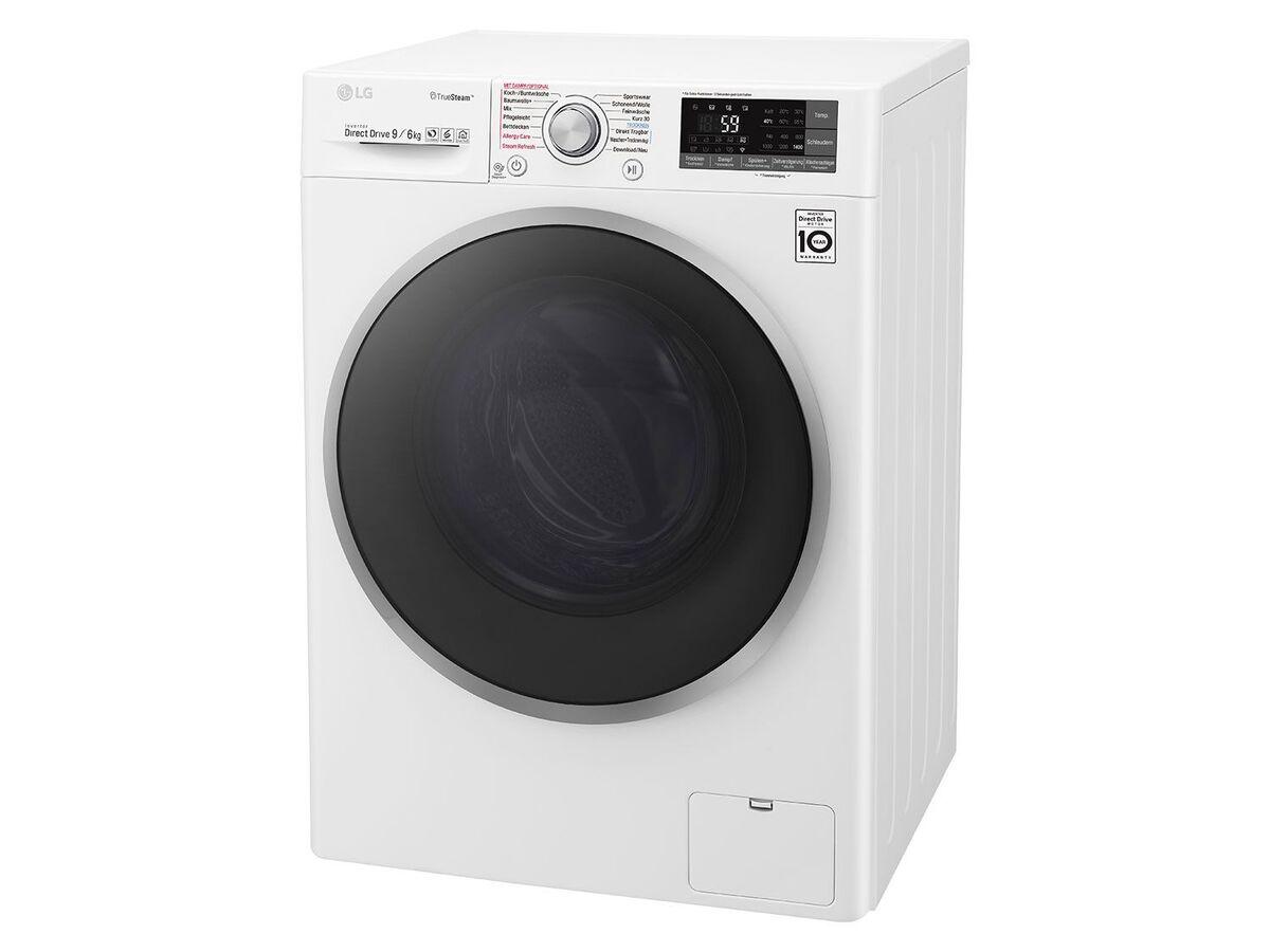 Bild 3 von LG Waschtrockner F14WD 96EH1; A; 9Kg Waschen; 6Kg Trocknen