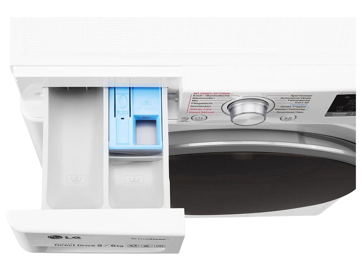 Bild 5 von LG Waschtrockner F14WD 96EH1; A; 9Kg Waschen; 6Kg Trocknen