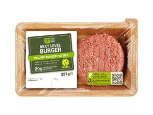 Vegane Burger-Patties