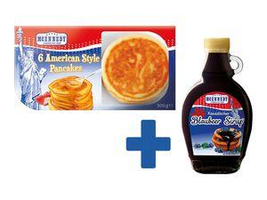 American Style Pancakes & Kanadischer Sirup