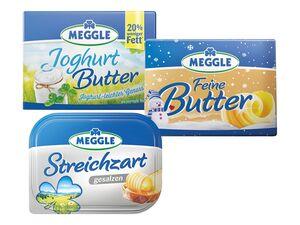 Meggle Streichzart/ Feine Butter/ Joghurtbutter
