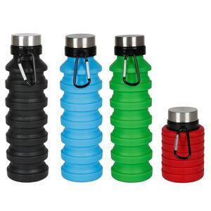 Faltbare Silikon-Trinkflasche 550ml