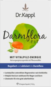 Dr.Kappl Darmflora Fit Vitalpilz Kapseln 30 St.