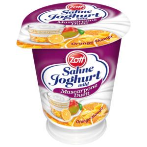 Zott Sahnejoghurt Orange-Mango 140g