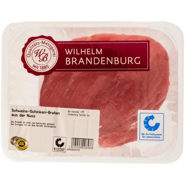Wilhelm Brandenburg Schweine-Schinken-Braten Nuss ca. 750g