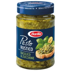Barilla Pesto Rustico Basilico & Zucchine 200g