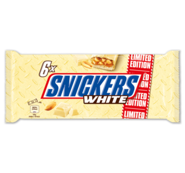 MARS Snickers white