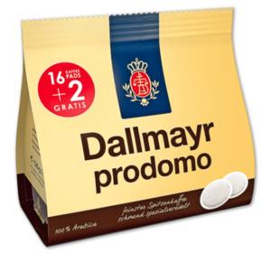 DALLMAYR Kaffee-Pads